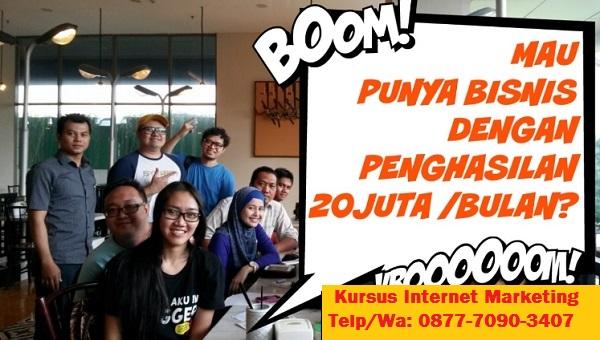Kursus Internet Marketing Terbaik Di Banda Aceh Online dan Offline